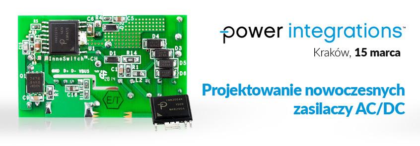 Projektowanie zasilaczy AC/DC z układami InnoSwitch firmy Power Integrations