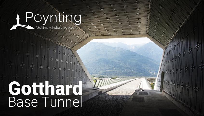 Rozwiązanie antenowe firmy Poynting zastosowane w najdłuższym i najgłębszym tunelu świata