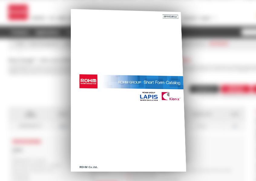 Katalog 2018 - prezentacja najnowszych rozwiązań firmy ROHM