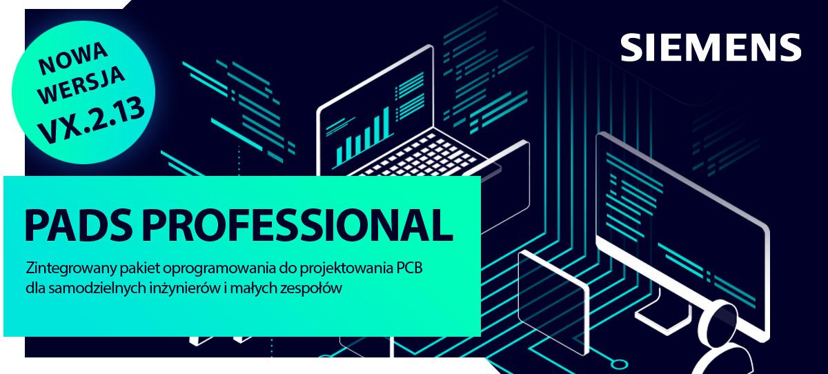 PADS Professional. Samowystarczalny zintegrowany pakiet oprogramowania do projektowania PCB dla samodzielnych inżynierów i małych zespołów.