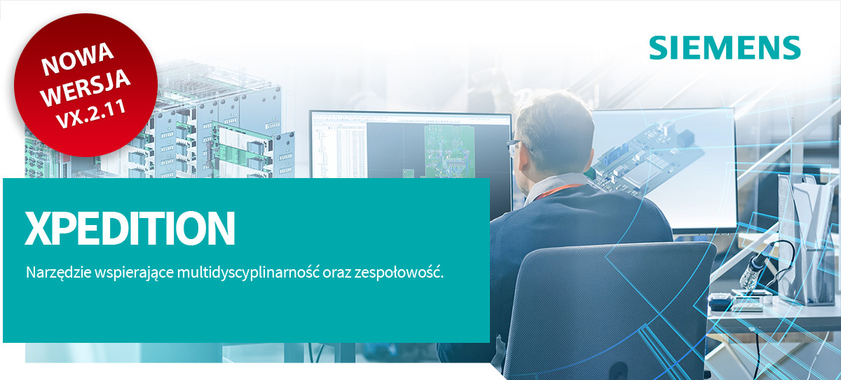 Xpedition system design. Zapewnia najwyższą produktywność, jakość i innowacyjność. Xpedition jest dedykowane do organizacji, które muszą uwzględnić w procesie projektowania i wdrażania nowych produktów złożoność organizacyjną.