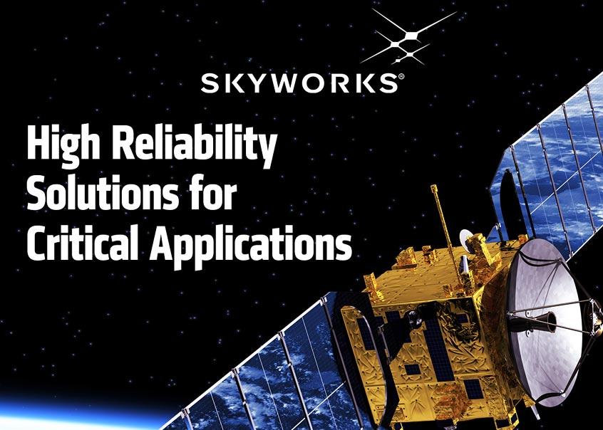 Skyworks rozszerza portfolio niezawodnych rozwiązań dla aplikacji wojskowych oraz kosmicznych