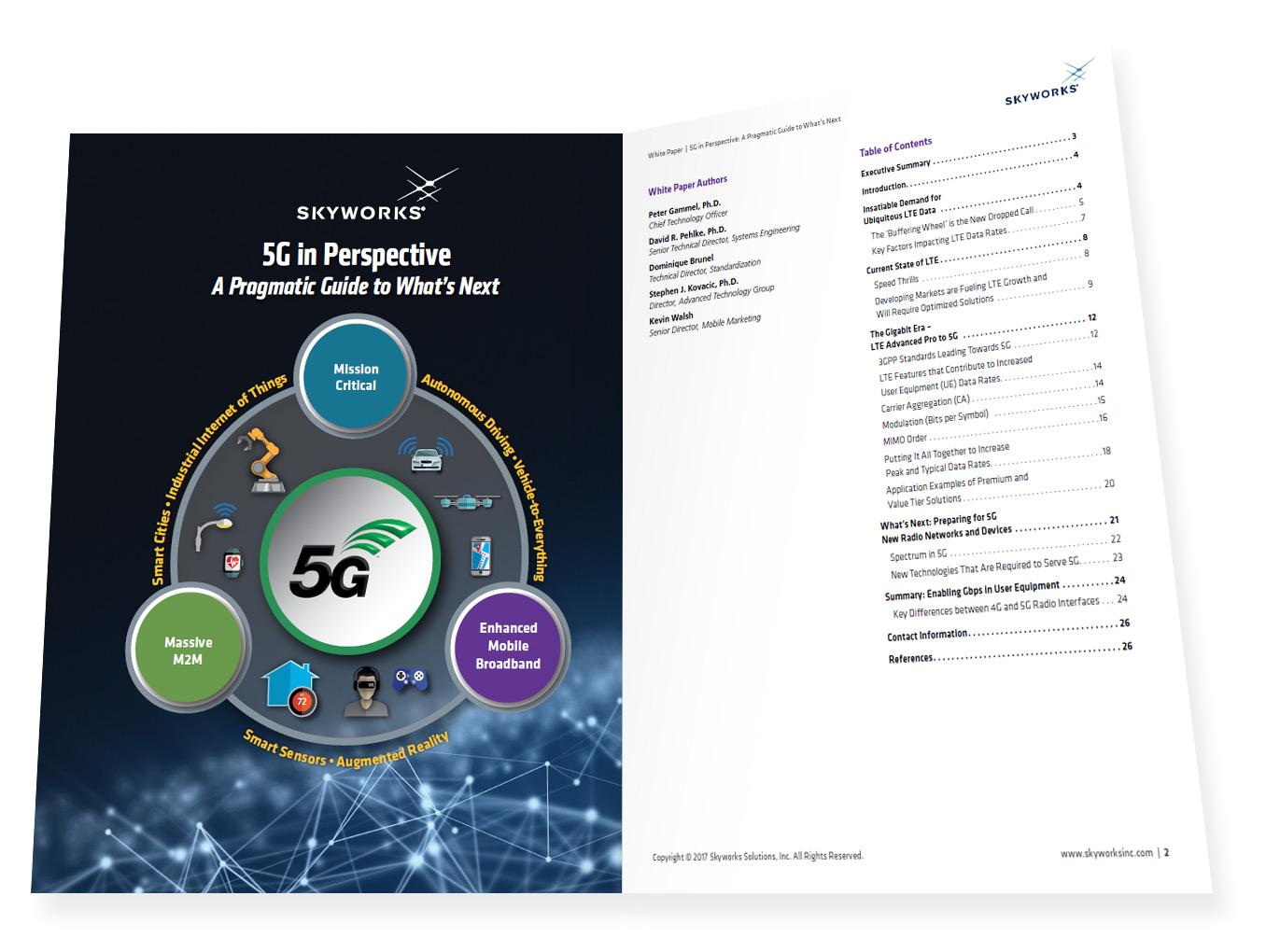 Sky5™ platforma komunikacji 5G zaprezentowana przez firmę Skyworks