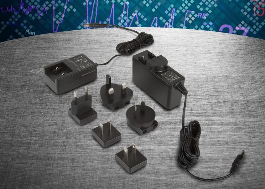 ACM06 oraz ACM18 nowe serie gniazdkowych 6 i 18W zasilaczy firmy XP Power dla aplikacji medycznych oraz IT