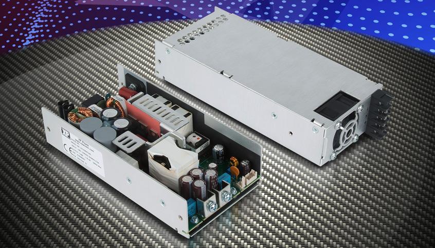 500W zasilacze GCU500 firmy XP Power z przeznaczneiem dla aplikacji IT oraz medycznych