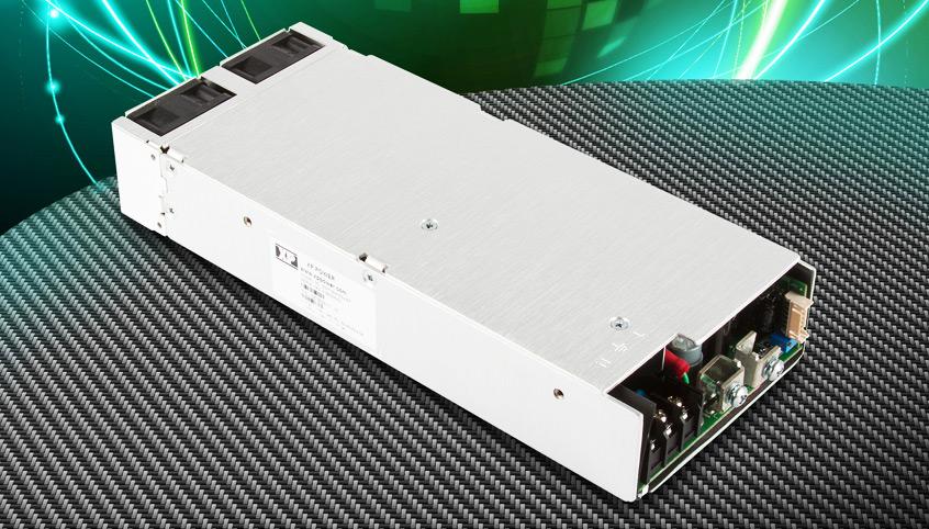 750W zasilacze nowej serii GSP750 firmy XP Power osiągają wysoką sprawność oraz 900W mocy szczytowej