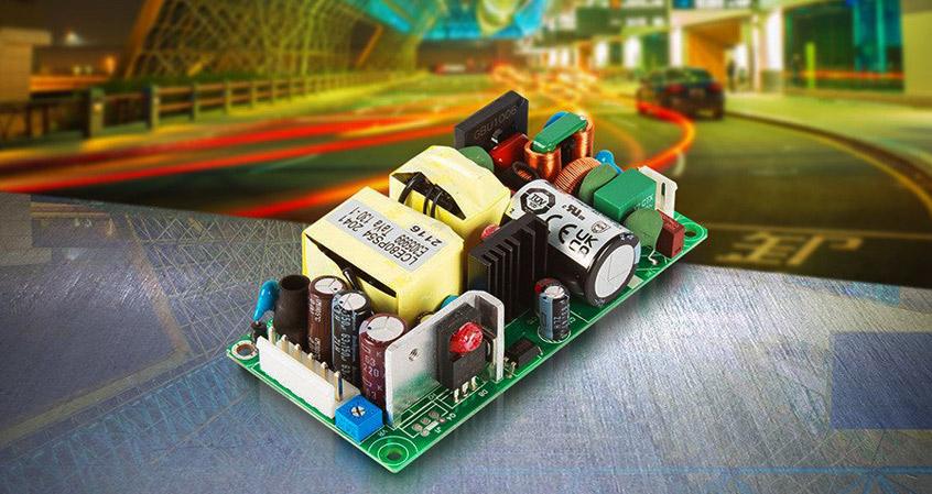 LCE80 nowa seria 80W zasilaczy firmy XP Power dla aplikacji oświetleniowych, elektroniki przemysłowej oraz IT