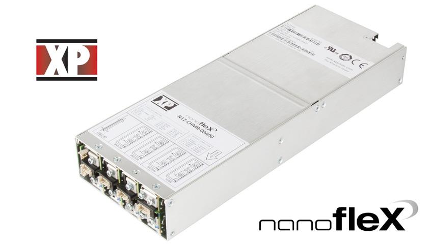 nanofleX najnowsza seria konfigurowalnych, modułowych wysokiej mocy zasilaczy 1U firmy XP Power