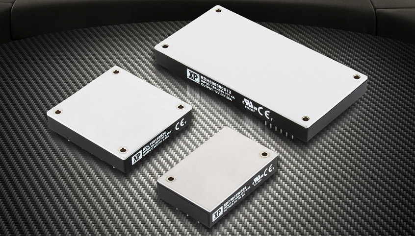 Wydajne przetwornice DC-DC firmy XP Power dla aplikacji taboru kolejowego EN50155